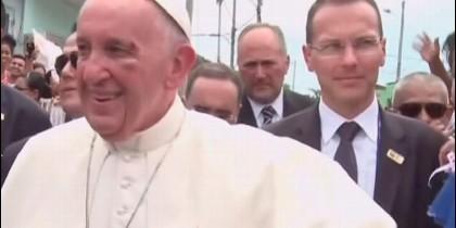 Un golpe del Papa Francisco