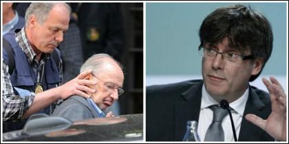 La detención de Rodrigo Rato y el sedicioso Carlos Puigdemont.