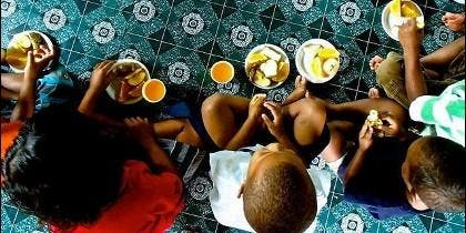 Misiones Salesianas lucha contra el hambre en el mundo