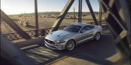 New Ford Mustang V GT with Performace Pack in Ingot Silver
