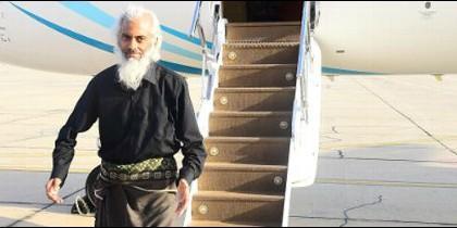 Primera imagen del padre Tom tras su liberación