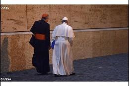 Maradiaga, con el Papa Francisco