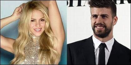 Shakira con Gerard Piqué (BARÇA).