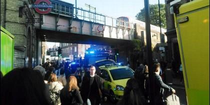 Ataque terrorista en Parsons Green, Londres