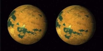 El planeta Vulcano.