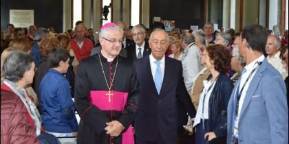 El arzobispo de Urgell y el presidente de Portugal celebran la fiesta de Andorra