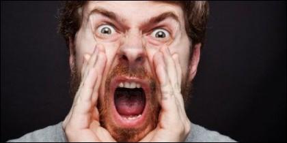 El grito, la rabia, el insulto y la furia.