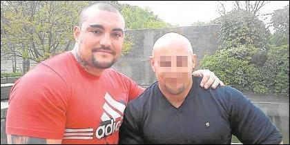 El criminal Óscar del Pino.