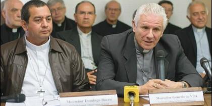 El presidente de los obispos guatemaltecos, Gonzalo de Villa sj