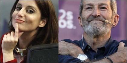 Andrea Levy y Julio Rodríguez.