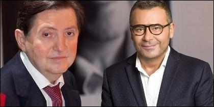 Federico Jiménez Losantos (EsRadio) y Jorge Javier Vázquez (TELECINCO).