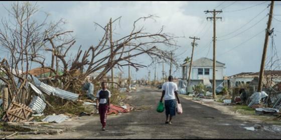 Devastación en Barbuda por el huracán Irma