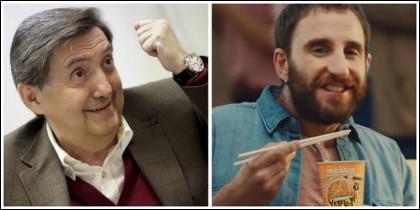 Federico Jiménez Losantos y Dani Rovira.