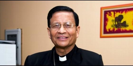 El cardenal arzobispo de Rangún, Charles Maung Bo