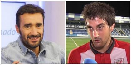 Juanma Castaño y Mikel San José.
