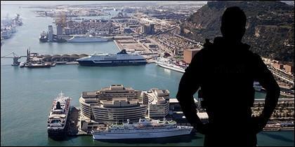 El testimonio de un policía sobre los barcos en Barcelona.