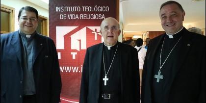 Osoro, De las Heras y Carlos Martínez, en la apertura de curso del ITVR