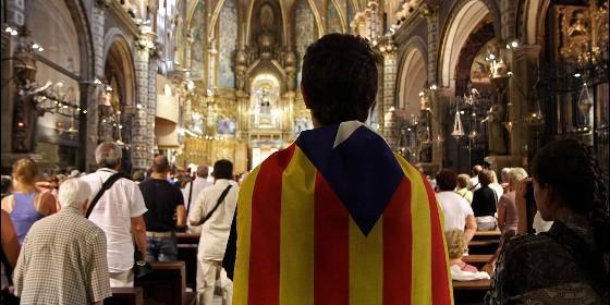 Un joven independentista en la Iglesia