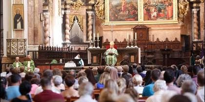 Misa en Valencia por las víctimas de los terremotos