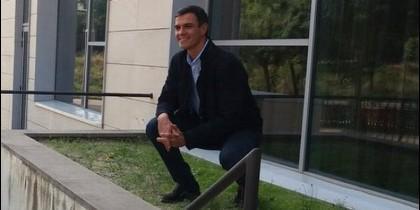 El 'caganer' Pedro Sánchez.