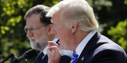 Rajoy y Trump