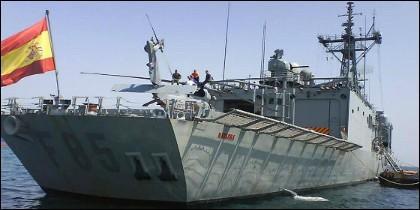 La fragata 'Navarra' F-85