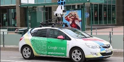 Coche de Google Maps