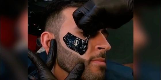 Depilación facial hombres