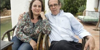 Resurrección Galera, con su marido