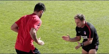 El primer lío de Diego Costa en el vestuario del Atlético de Madrid: ¡Vaya enfado!