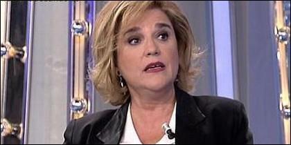 La independentista catala Pilar Rahola.
