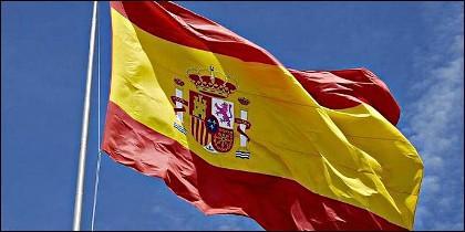 España y la bandera española.