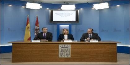 Presentación del nuevo Plan de Servicios Sociales por parte de Alicia García, Consejera del área