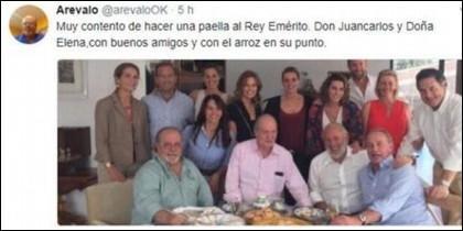La paella de la discordia entre Bertín Osborne y Paco Arevalo.