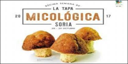 Imagen del cartel anunciador de la Semana Micológica en Soria