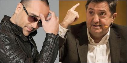 Risto Mejide y Jiménez Losantos.