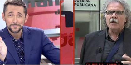 Javier Ruiz y Joan Tardá en Las Mañanas de Cuatro.