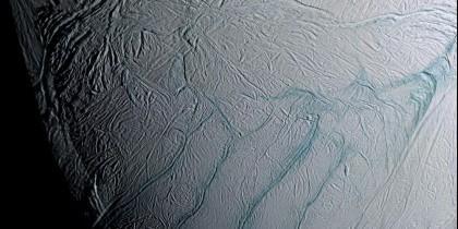Superficie de Encélado