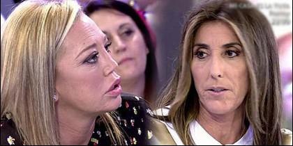 Belén Esteban y Paz Padilla.