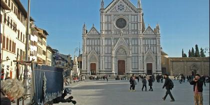 La basílica de la Santa Croce de Florencia (Italia)