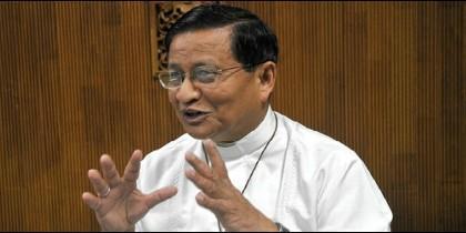 El cardenal de Myanmar, Charles Maung Bo