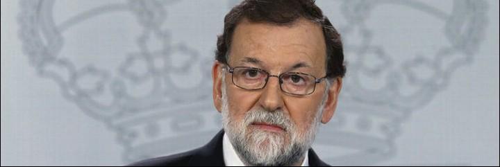 Mariano Rajo, presidente del Gobierno de España.