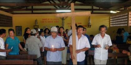 Semana Santa en el Vicariato Apostólico de Requena, Perú