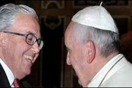 Guzmán Carriquiry, con el Papa Francisco