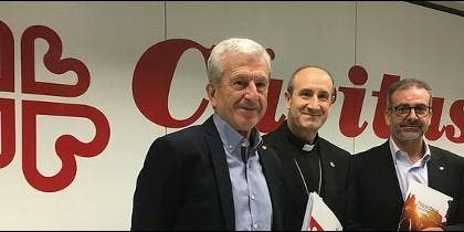 Manuel Bretón, Jesús Fernández y Sebastián Mora
