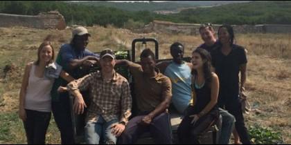 Voluntarios del huerto Hermana Tierra