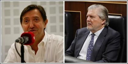 Federico Jiménez Losantos e Íñigo Méndez de Vigo.