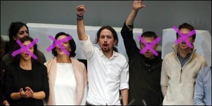 Pablo Iglesias y las purgas de Podemos.