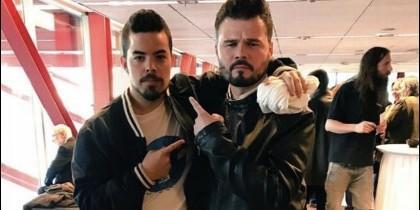 Gabriel Rufián y Bernat Castro