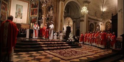 Cañizares, en la misa del Santo Cáliz